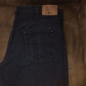 Men's Faded Glory Black Jeans 38/32